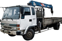 Isuzu Forward c КМУ UNIC V340